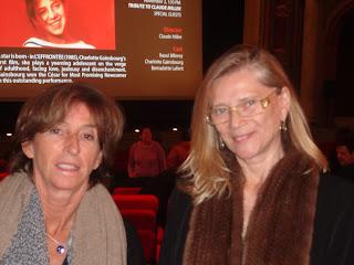 Annie Miller et Natalie Carter, épouse du regretté Claude Miller et scénariste du film Thérèse Desqueyroux