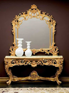 Mebelinterior klasik jual meja konsul klasik ukiran jati classic eropa mewah italian gold leaf,Jual mebel Furniture jepara special classic italian furniture dan classic French design mebel asli jepara
