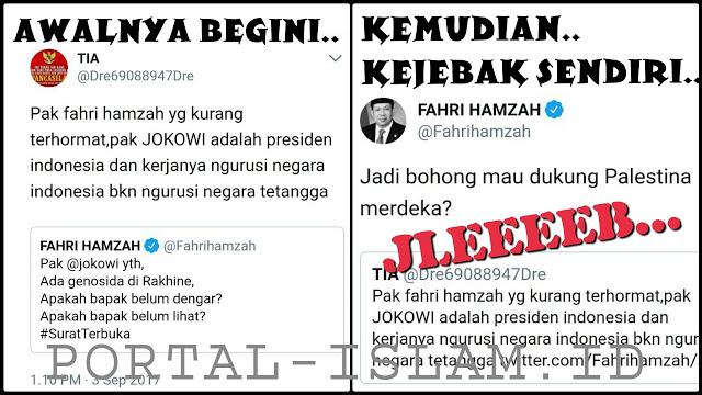 TELAK! Fahri Hamzah Bikin Mingkem Pendukung Jokowi