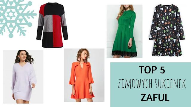 TOP 5: zimowych sukienek | Zaful