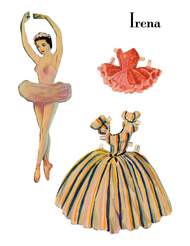 vintage paper dolls Younger generations will never comprehend just how popular paper dolls once  were put it this way: they were the pokémon of the midcentury.