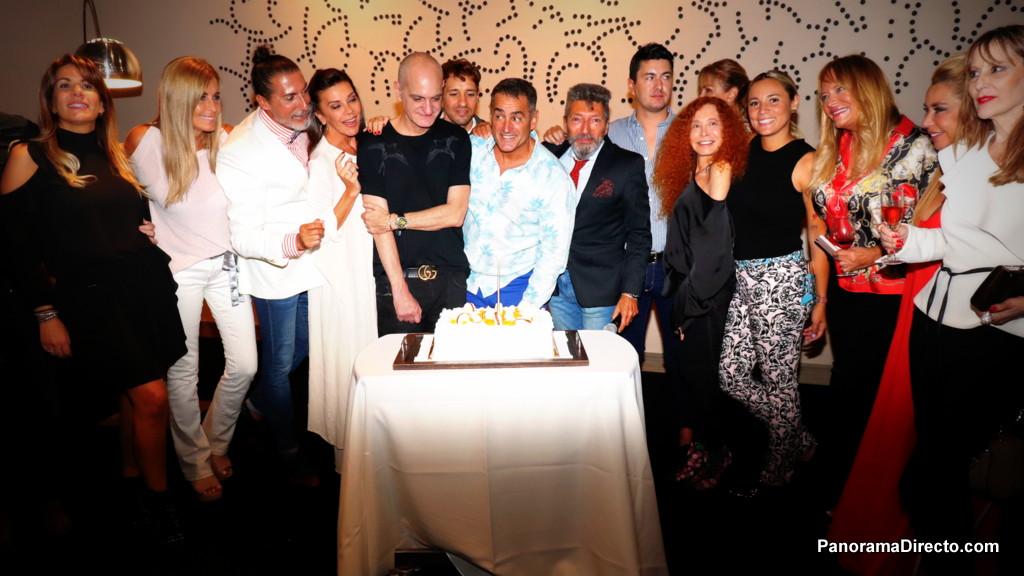 Luis González Arce festejó su cumpleaños en el Recoleta Grand Hotel