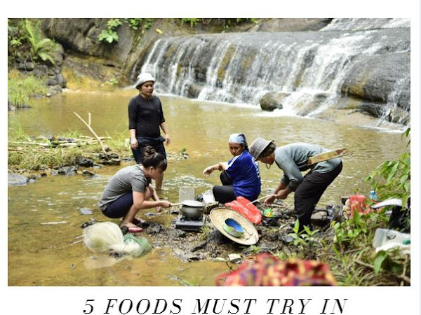 [travel] 5 traditional Kenyah foods MUST TRY in Kg.Data Kakus