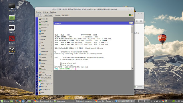 Remote Microtic Winbox on Linux Mint