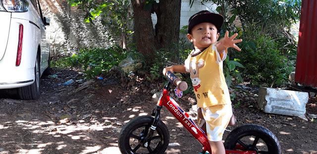 Cara mudah belajar balance bike