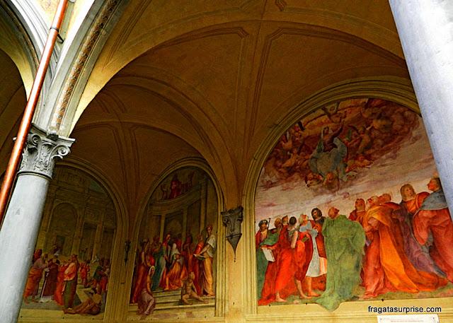 Afrescos na  Basílica da Santissima Annunziata, Florença