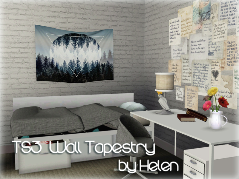 Helen Sims Ts3 Wall Tapestry