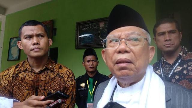 Ma'ruf Amin Yakin Kebijakan DNI Tak Pengaruhi Elektabilitas Jokowi