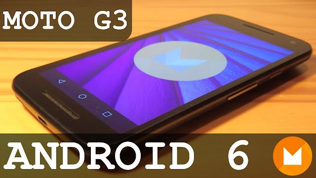 Stock Rom Moto G 3ª Geração XT1543 - Android 6.0 Marshmallow
