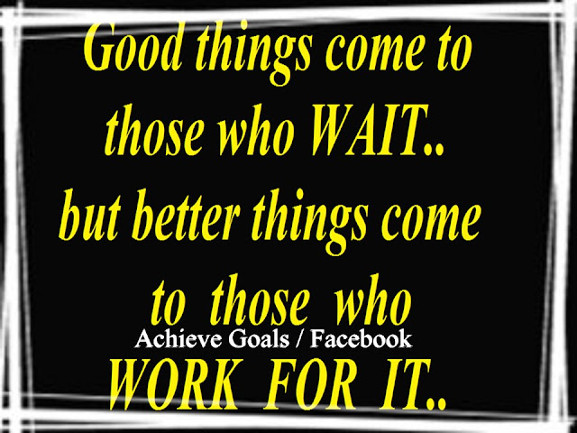 Love Life Dreams: Good Things Come To Those Who WAIT