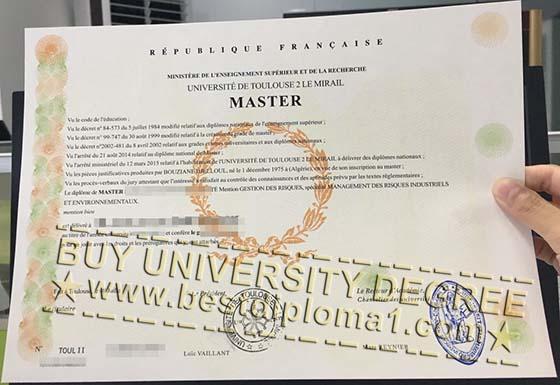 Universite De Toulouse 2 Le Mirail degree