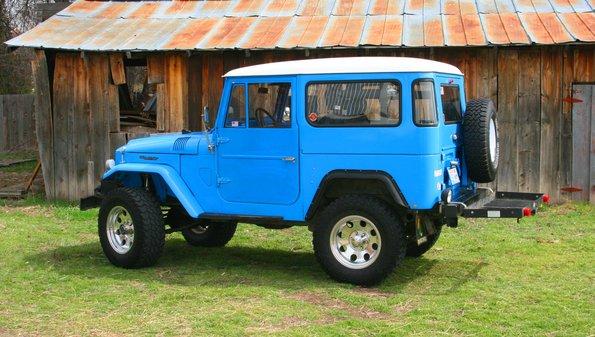 1966 Toyota FJ40 Land Cruiser – $18500 – Groosh's Garage