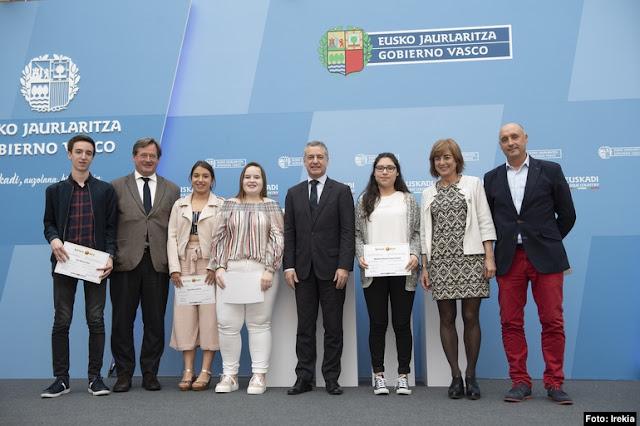 premio Kultura Ondarea al instituto Minas