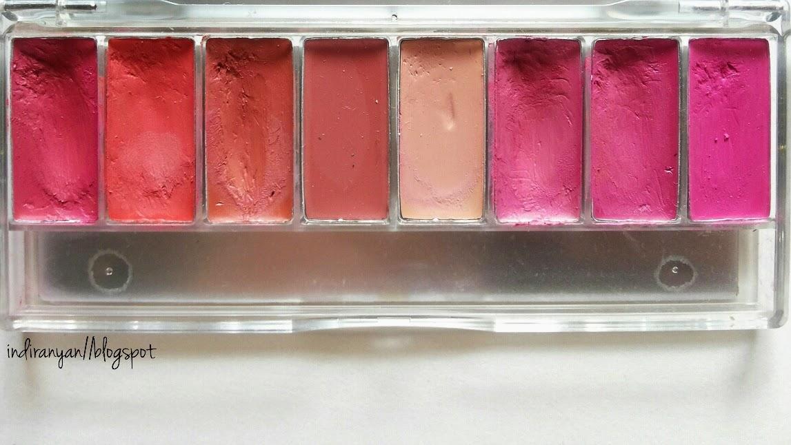 Lipstik Wardah Perfect Red Lip Palette