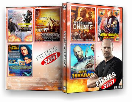 CAPA DVD – COLEÇÃO FILMES DVD-R VOL 183 – ISO