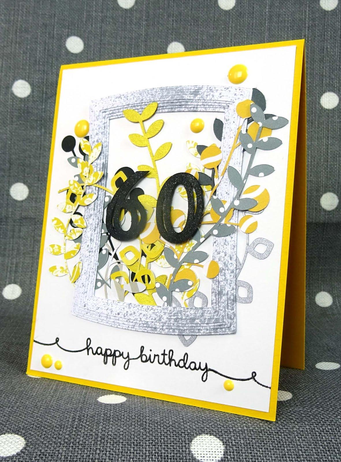 scrap et carte carte anniversaire 60 ans. Black Bedroom Furniture Sets. Home Design Ideas