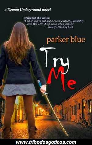 parker blue,try me,livro
