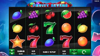 Fruity Sevens Main Screen