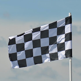 Checked flag - a little bit of obsessions in action