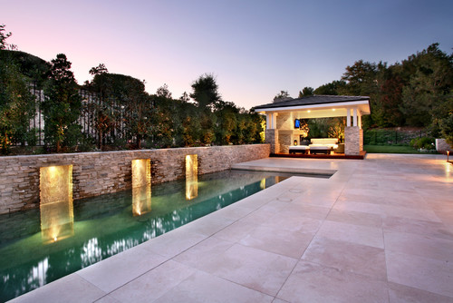 Trend homes luxury lighting swimming pool design for Pool design regrets