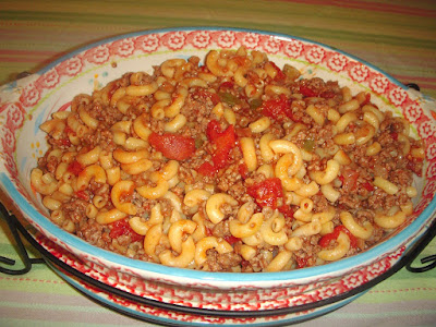 Margaret's Morsels | Hamburger Macaroni Casserole
