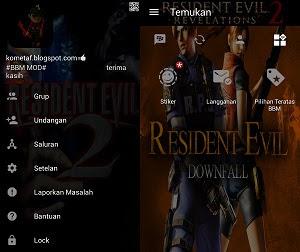 BBM Mod Resident Evil Dark Blood v3.0.1.25 Apk