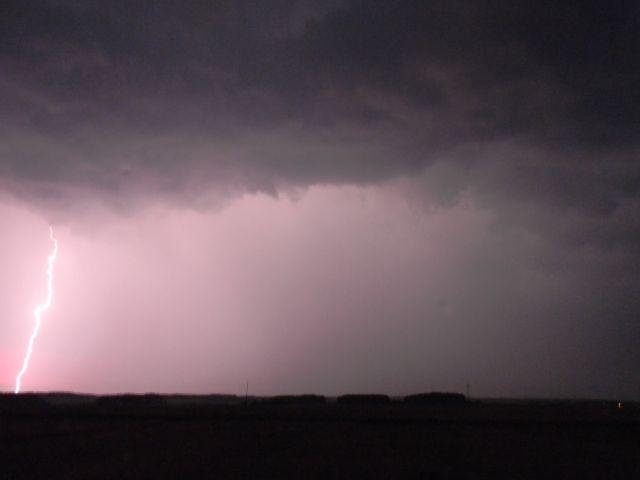 wyładowania, atmosfera, burza, pole