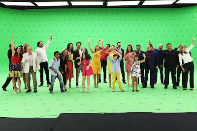 """Fotos de bastidores da filmagem da """"A TV que tem torcida"""". Crédito da foto: Leonardo Nones/SBT"""