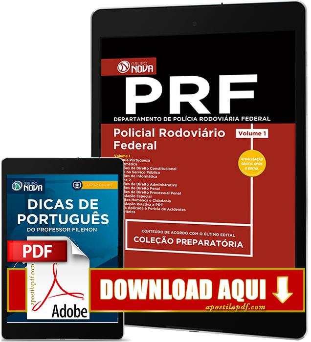 Apostila PRF 2017 PDF Download Polícia Rodoviária Federal