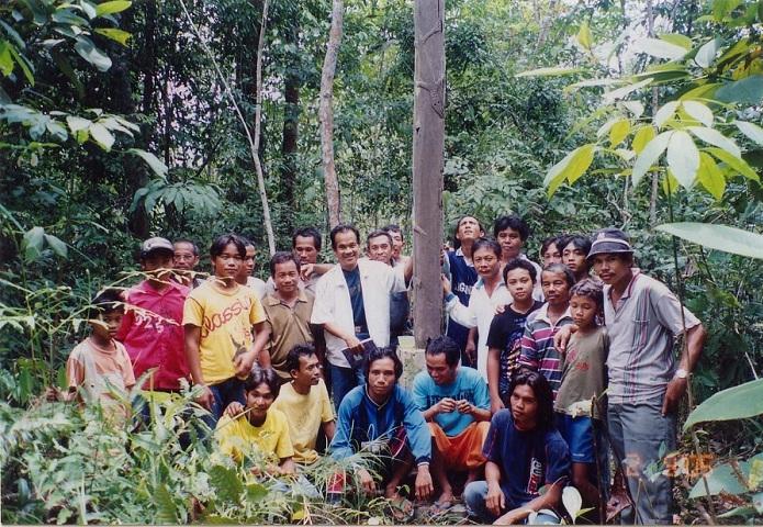 Tiang Sanonk di Desa Seraras Bukti Sejarah Masa Animisme di Sekadau
