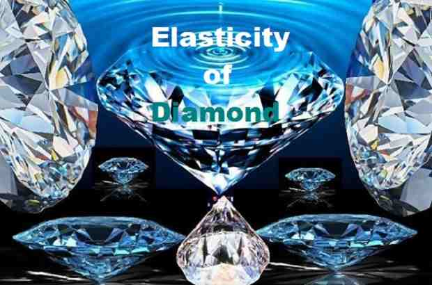 Elasticity of Diamond