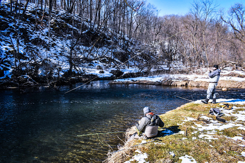 Carf outdoors march 2017 for Fly fishing wisconsin