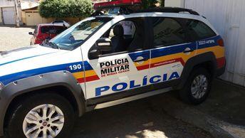 Menores são detidos com revólver municiado em Almenara