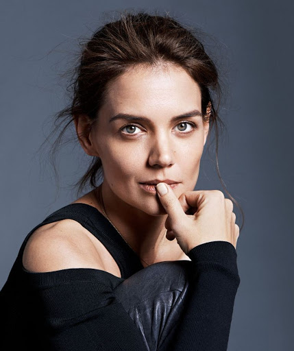 katie holmes models photo shoot more magazine