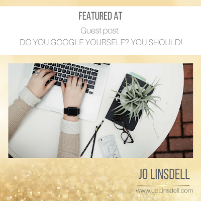 Do You Google Yourself? You Should! at https://lmsofficialblog.wordpress.com/2018/02/01/do-you-google-yourself-you-should