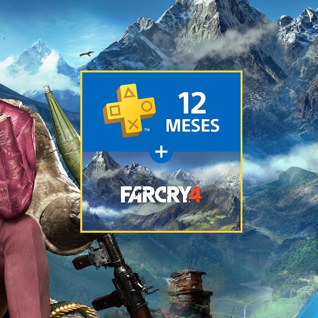 Far Cry 4 de regalo con las suscripciones de 12 meses de PlayStation Plus