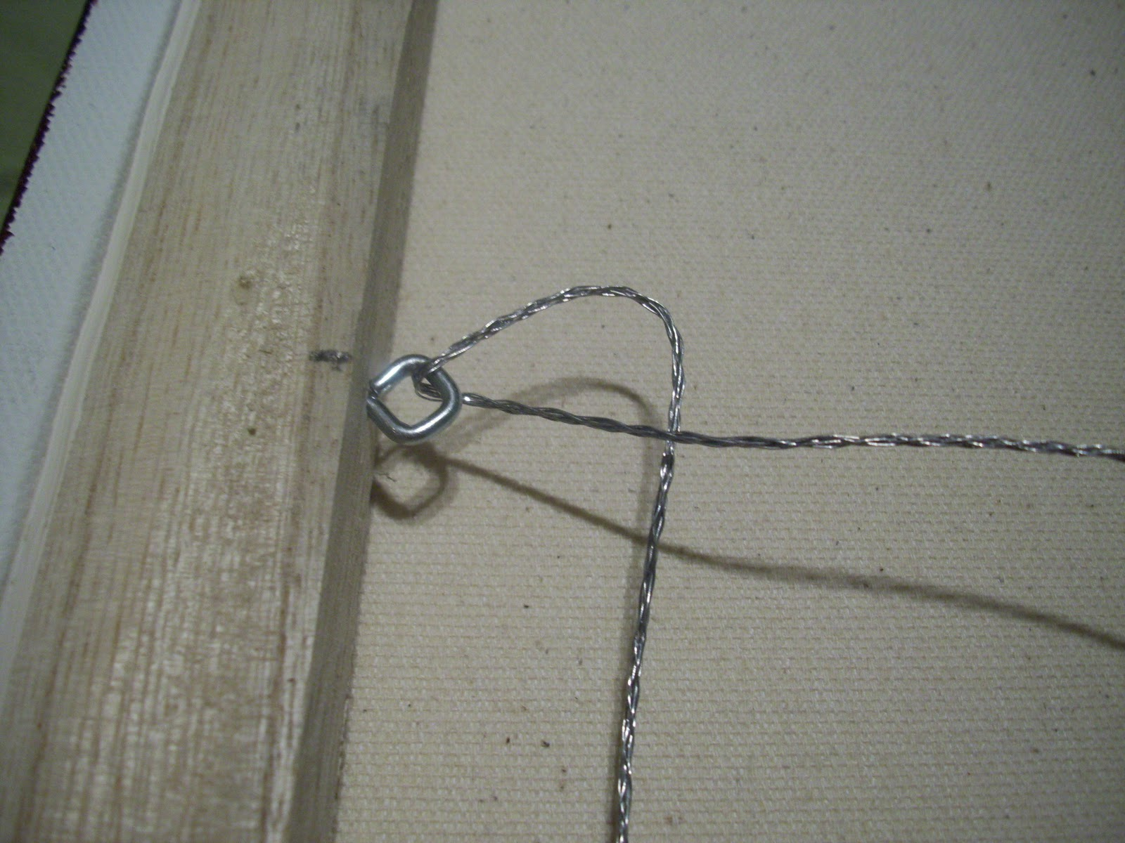 wiring a frame art by jae: how to wire a painting for hanging wiring a light switch and outlet off of a