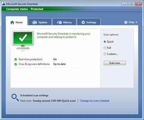 Download Microsoft Security Essentials 4.4.304.0