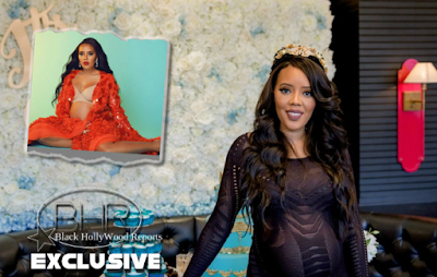 "Angela Simmons And Her Fiance ""Sutton Tennyson"" Welcomes A Baby Boy Into The World"