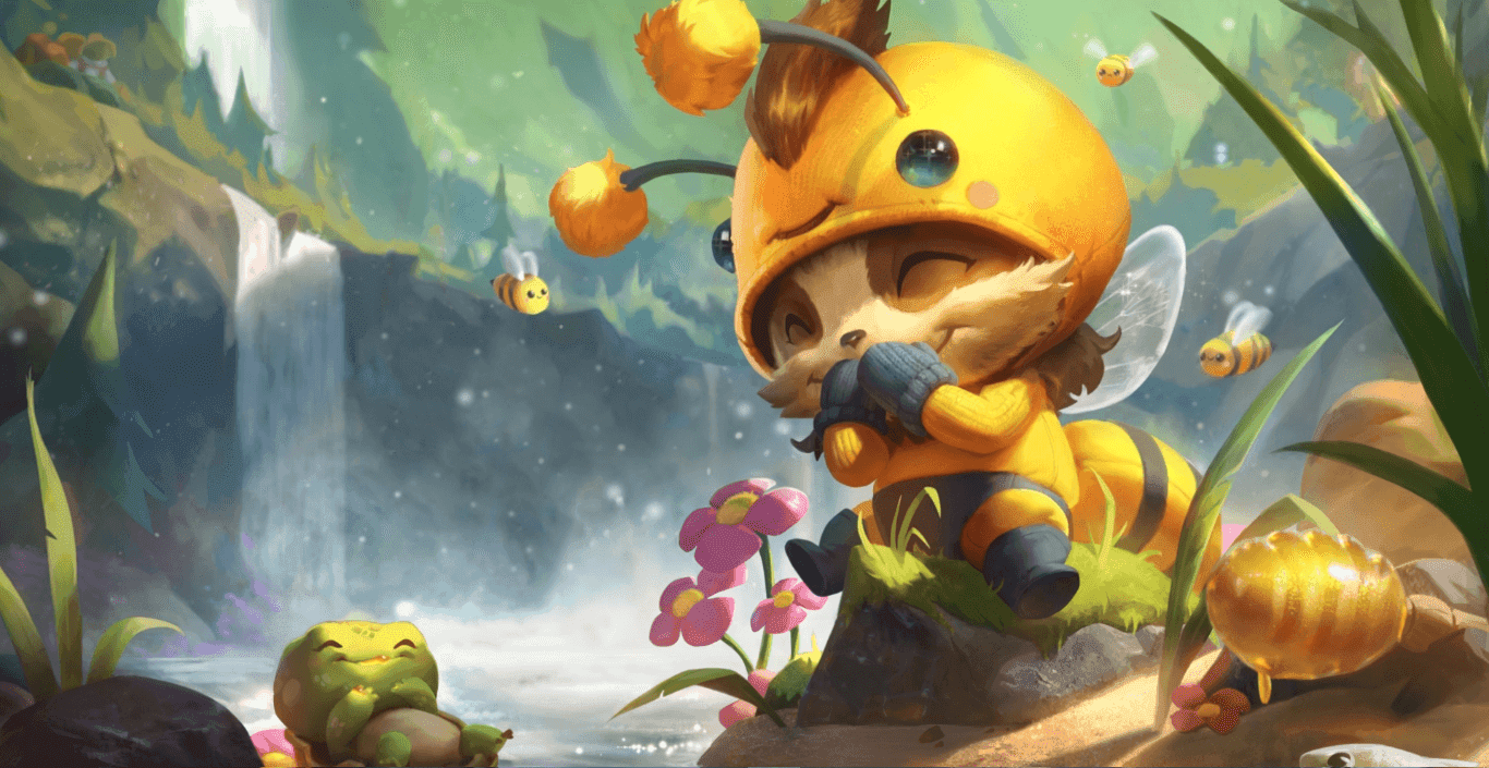 Beemo Teemo Animated Splash Art [Fan Made] [Wallpaper Engine Free]