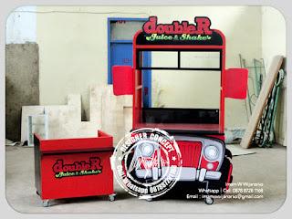 produksi gerobak juice doubler