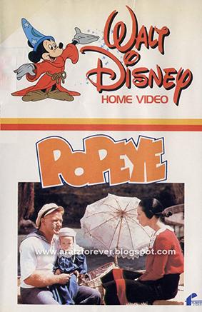 Popeye, Robert Altman, Robin Williams, Disney, Paramount, Shelley Duvall, Paul Smith, Segar