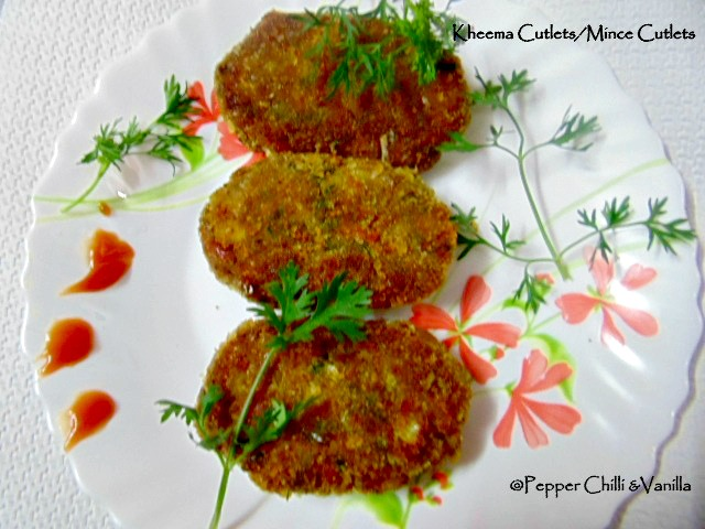how to make kheema cutlet