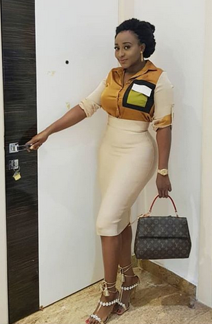 I'm In Love With Me! Ini Edo Says As She Releases Hot Sunday Photos