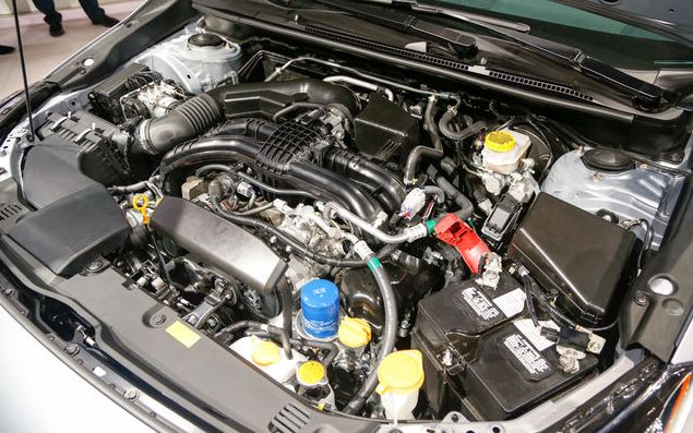 2017 Subaru Impreza 5 Door Engine