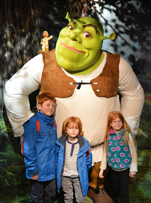 Madame Tussauds London including Star Wars,  A Review  - Shrek