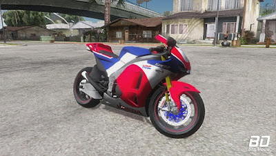 Download , Mod , Moto , Honda RC213v-s  para GTA San Andreas, GTA SA , Jogo PC