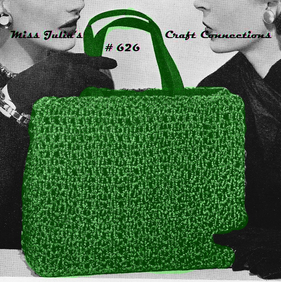 Knitted Tote Bag Pattern : Miss Julias Patterns: Favorite Bags to Knit & Free Patterns