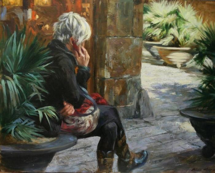 Современные художники Испании. Monica Castanys 19