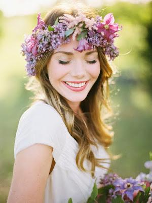 Peinados de novia con corona